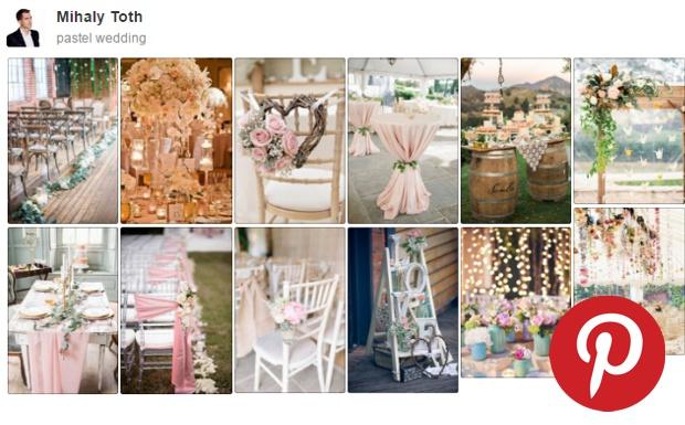 ec129dd279 Az esküvői dekoráció stílusát alapvetően a választott helyszín határozza  meg, így a rusztikus ugyanakkora arányban megjelent, mint az elegáns,  decens vonal.