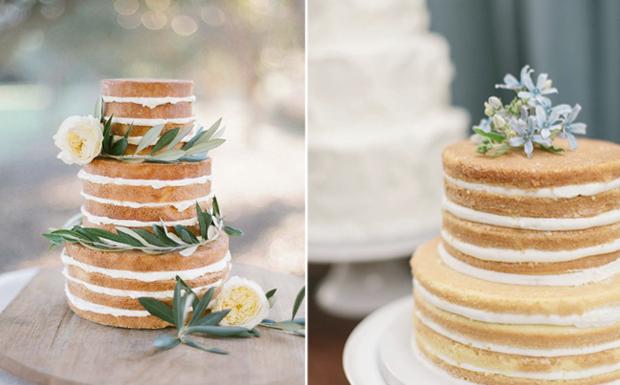 esküvői torta recept A pucér a divat   Új trend hódít az esküvőkön | Femcafe esküvői torta recept