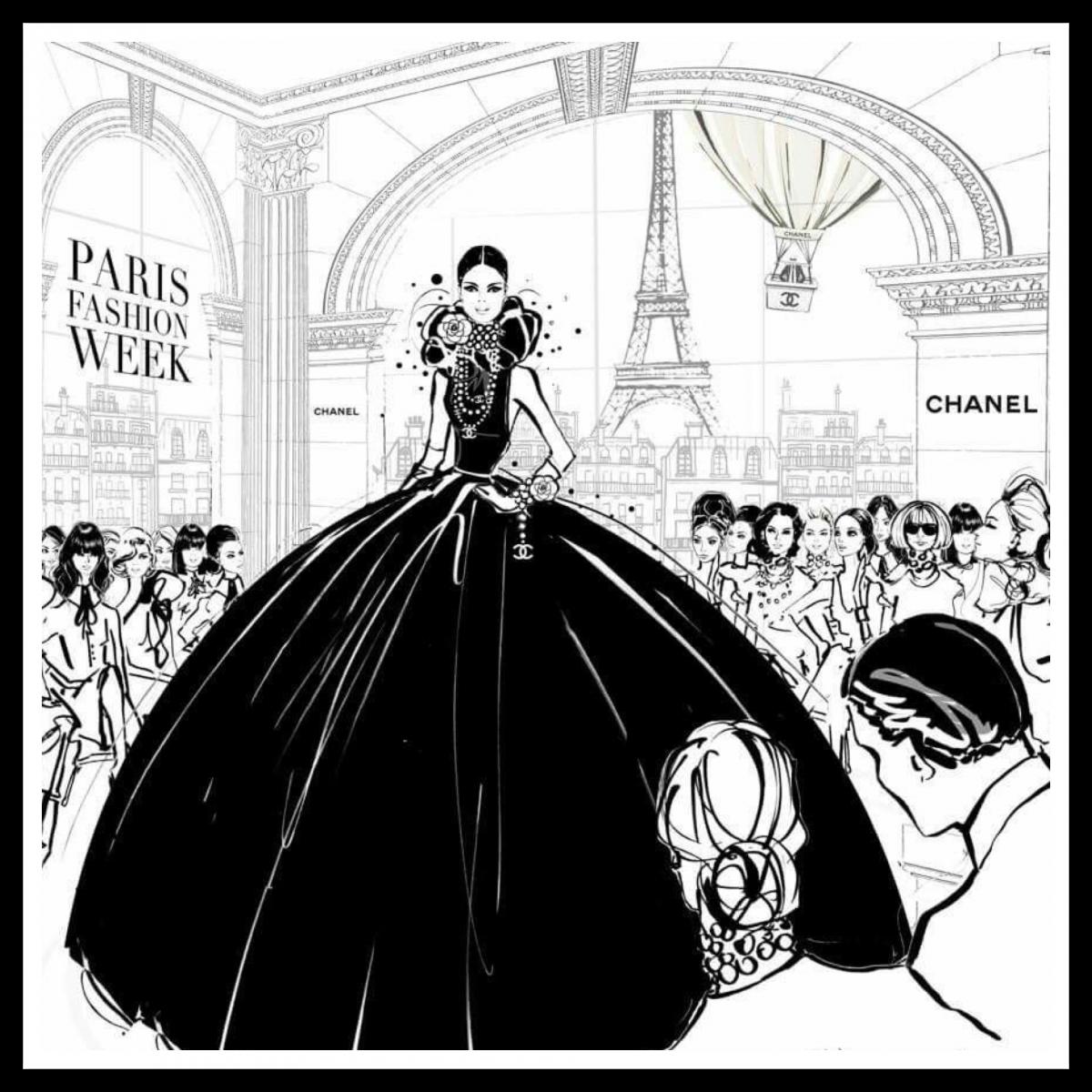 e0b7c8935b Párizsi divathét: fotókon a bizonyíték, hogy a francia sikk ...