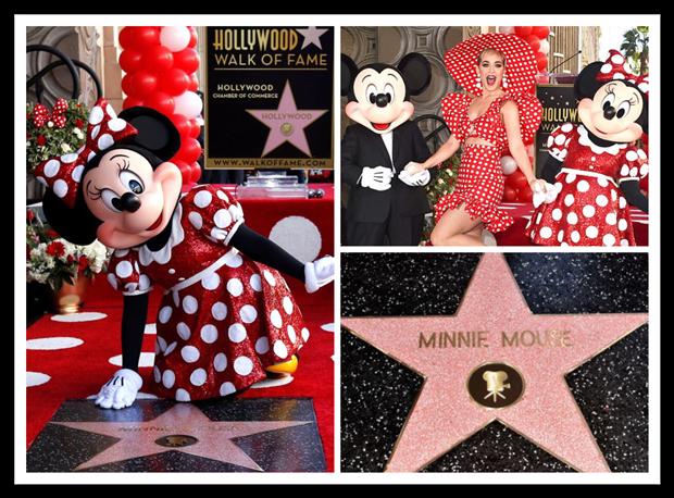 3e4b2a21ba Csillagot kapott a hírességek sétányán: Minnie egér 90 éves lett ...