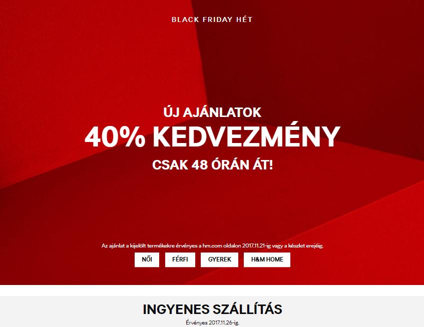 1bbbe788d0ea Divat és szépség: összeszedtük a legjobb Black Friday ajánlatokat ...