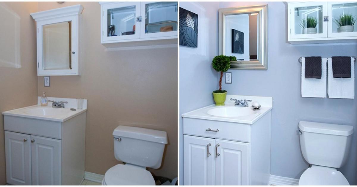Előtte-utána fotók 4 hihetetlen fürdőszoba-átalakításról – Így ...