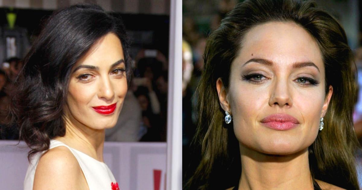 Amal Clooney kitálalt: valójában ki nem állhatja Angelina Jolie-t