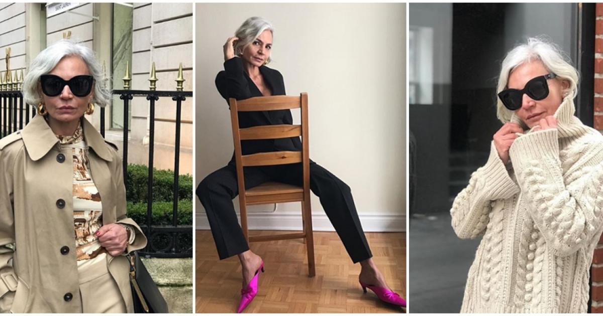 79d99f9e90 Ez az 52 éves nő bizonyítja, hogy az öltözködés nem a kortól függ   Femcafe