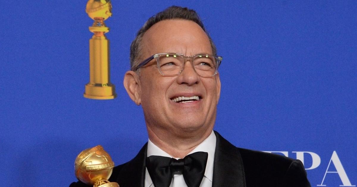 """Képtalálatok a következőre: Cecil B. DeMille‑életműdíjban részesült Tom Hanks."""""""
