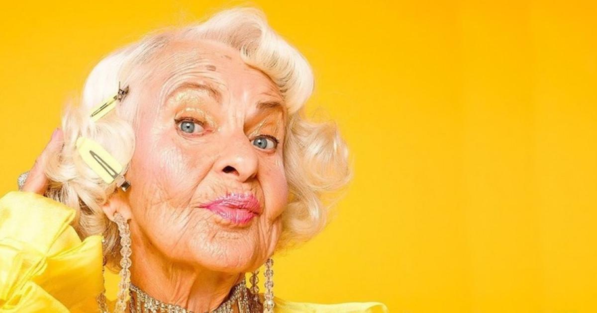 f079477b27 A divatmárkák is imádják: 90 éves nagymama az internet sztárja | Femcafe