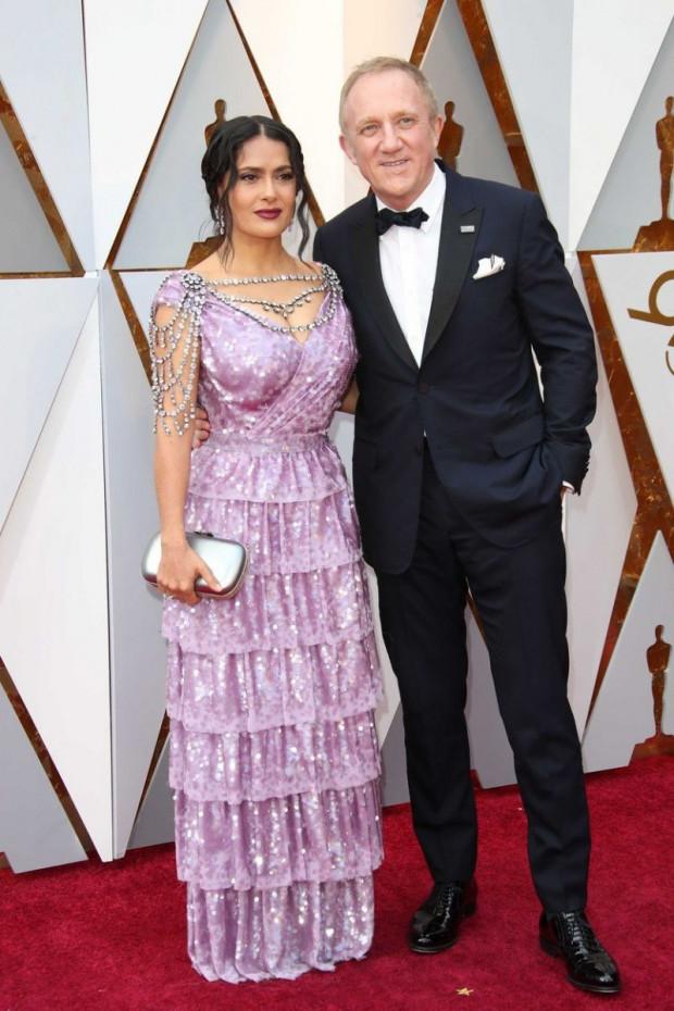 Salma Hayek és férje