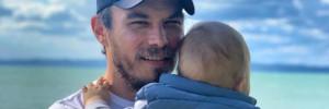 Lengyel Tamás eddig titkolta, hogy apa lett – Most végre megmutatta 11 hónapos kisfiát