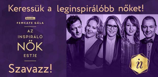 Szavazz, kik legyenek 2019 Leginspirálóbb Női!