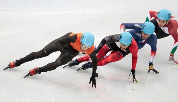Liu Shaolin arany-, Liu Shaoang ezüstérmes 1000 méteren, a rövidpályás gyorskorcsolya vb-én