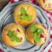 Könnyű és gyors epres muffin