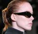 A retró hajcsatok a New York-i divathéten jelentek meg, Alexander Wang bemutatóján.