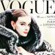 Vogue címlap az '50-es évekből.