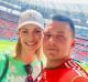 Az, hogy a 35 éves sportoló már édesanya és túl van egy váláson, természetesen nem akadályozta meg őt abban, hogy újra szerelmes legyen, a jelek szerint pedig nagyon boldog jelenlegi párjával.