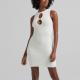 Bershka Műszőrme ruha szív alakú strasszdísszel  9995 Ft helyett 5995 Ft (-40%)