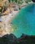 Pasjača színtiszta természet és nyugalom,egy gyönyörű, rejtett strand a meredek konavloi sziklák aljában.