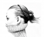 Ez pedig a retró hajráf, amiről szó volt. A Prabal Gurung bemutatón díszelgett a modellek hajában.