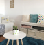 Ha a minimalista stílus és a letisztult külső szerelmese vagy, még akkor is imádni fogod a most divatos kék szőnyegeket, amik feldobják az otthonod. Bevetheted őket az étkezőben, fürdőben, nappaliban vagy hálóban, és máris egy kis színt visznek a lakásba.
