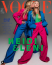 """""""Nagyon izgatott vagyok az első címlapom miatt. Nagyon jól éreztem magam a fotózáson a német Vogue-gal, szebb kezdetről nem is álmodhatnék. Köszönöm, hogy mellettem vagy Heidi Klum"""" - írta ki a közösségi oldalán a képhez Leni. De a többi kép is előkerült."""