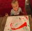 Rajzolni is imád, ki tudja, talán ebben lesz majd ő is elismert művész.