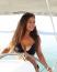 A gyönyörű szépségkirálynő, műsorvezető imádja a napsütést, a nyarat, és előszeretettel posztol is a bikinis napokról.