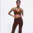ZARA Satin crop top 6595 Ft; Full-length satin trouser 8995 Ft
