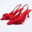 ZARA Heeled Slingback Shoes 9995 Ft