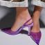 BershkaVinil sarkú, hátul nyitott cipő 9995Ft