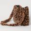 H&M Bézs/leopárdmintás műszőrme válltáska 5995 Ft
