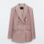 Massimo Dutti Double-breasted 100% linen blazer49,995 Ft