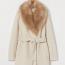 H&M Műszőrme galléros kabát  19995 Ft helyett 11995 Ft (-40%)