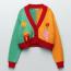ZARA Knit Cardigan with designs 15,995 Ft
