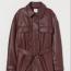 H&M Műbőr dzseki - Sötét vörösesbarna  17995 Fthelyett 9995 Ft (-44%)