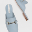 Stradivarius Blue mules with buckle detail 8,995 Ft