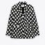 ZARA Polka Dot Blazer - Limited Edition 29,995 Ft