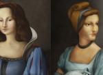 Így néznének ki a Disney hercegnők, ha reneszánsz festmények lennének