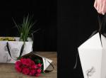 Így lehet pofonegyszerűen becsomagolni egy csokor virágot - Két mozdulat és kész!