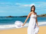 Pasimágnes fehér ruhák nyárra