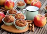 Villámgyors nagyon almás muffin
