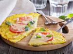 Villámgyors pizzatészta karfiolból
