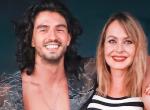 Andrei Mangra elutazott táncpartnerével