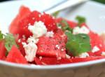 Görögdinnyés-fetás saláta - Szokatlan, de üdítően frissítő recept