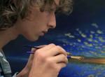 2,5 évig készült ez a megdöbbentően különleges festmény - Videó