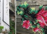 Az utcai gobelin az új spanyol díszítőmódszer - Varázslatos lesz tőle az elhanyagolt utcakép