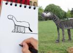 Ő az év legviccesebb apukája - Ezt csinálta kisfia rajzaival