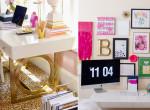 Letisztult púderszínek és arany csillámlás - A legcsajosabb irodai dekorok, amikbe azonnal beleszeretsz