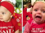 Ilyen cuki és ciki, amikor le akarjuk utánozni a karácsonyi babafotókat