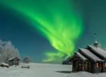 Ennél hangulatosabb téli képek nincsenek! Lappföld tényleg egy igazi csodaország