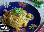 Mogyorószószos ázsiai tészta csirkével - Tökéletes finomság egy romantikus vacsorához