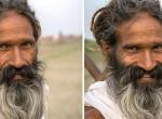 Így alakítja át a mosoly az idegenek arcát - Elgondolkodtató fotók